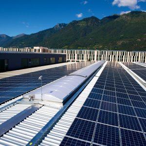 Impianto fotovoltaico sulla Geniomeccanica